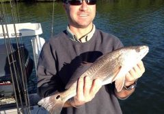 Redfish caught in the Indian River photo