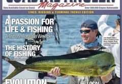 May cover of Coastal Angler Magazine