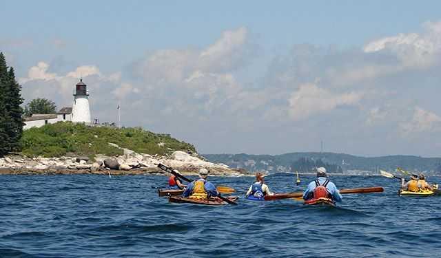 Kayaking makes you happy.