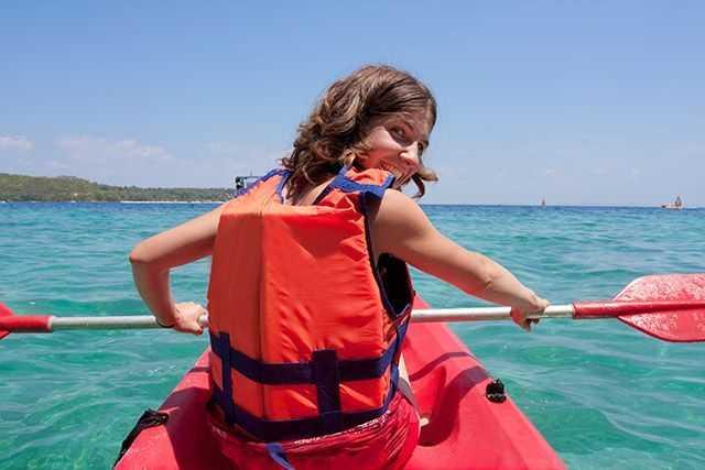 """Best Places"" to kayak: the Atlantic Ocean."