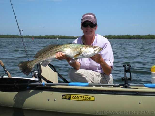 Kayak fishing so you want to catch a gator trout for Kayak fishing tournaments near me