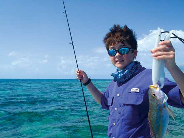 Clayton-with-a-yellow-tail-snapper