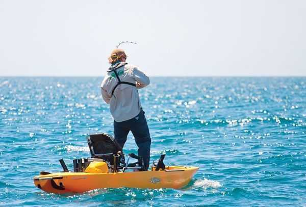 The crossover coastal angler the angler magazine for Offshore kayak fishing