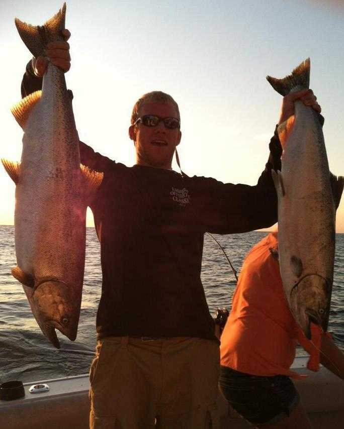 Grand haven fishing report august 2013 coastal angler for Grand haven fishing report