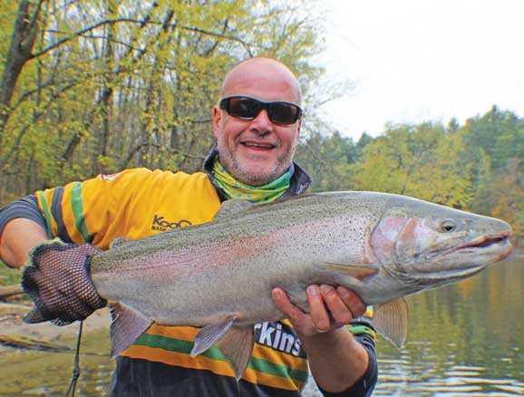 Muskegon river fishing report nov 2013 coastal angler for Muskegon river fishing