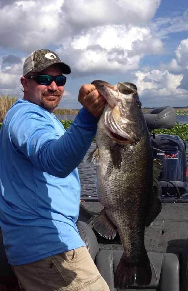 Big bass in lake monroe sanford florida coastal angler for Florida lake fish