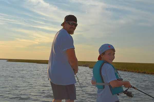 The Fisherman Guide Service (Captain Ronny Daniels) (228) 323-1115.