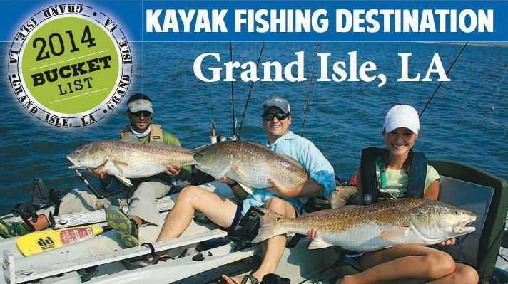 Bucket list kayak fishing destinations coastal angler for Kayak fishing louisiana
