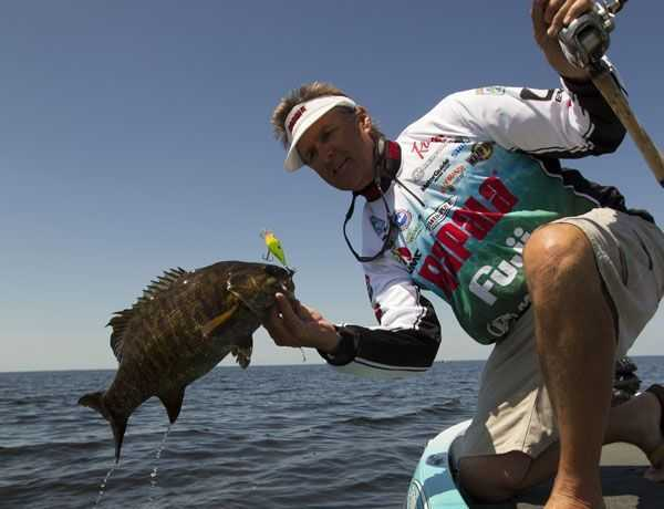 Bernie Schultz, an eight-time Bassmaster Classic participant, honed his skills fishing the grass-heavy lakes in his home state of Florida.