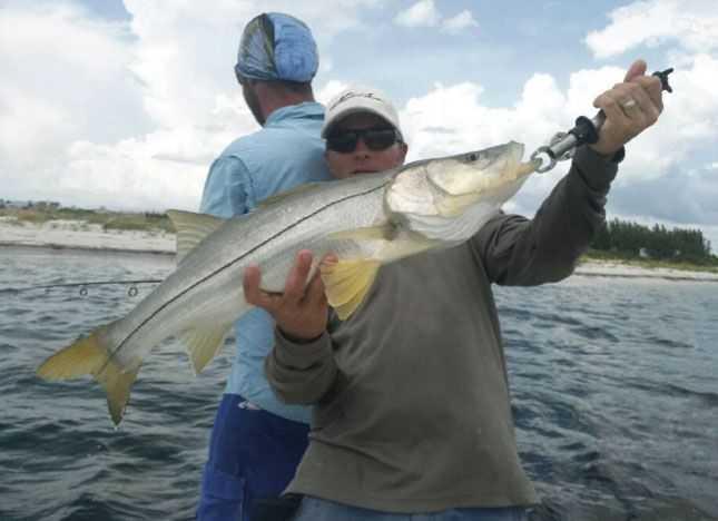 Slam time in central florida coastal angler the angler for Snook fishing florida