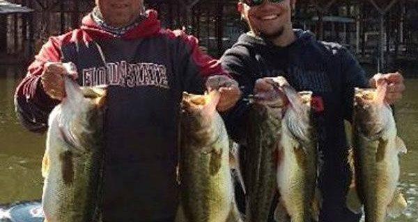 Lake jackson fishing forecasts coastal angler the for Lake seminole fishing