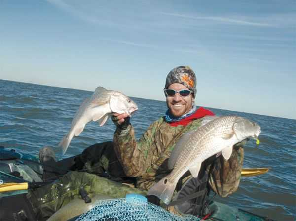 Offshore kayak fishing coastal angler the angler magazine for Offshore kayak fishing