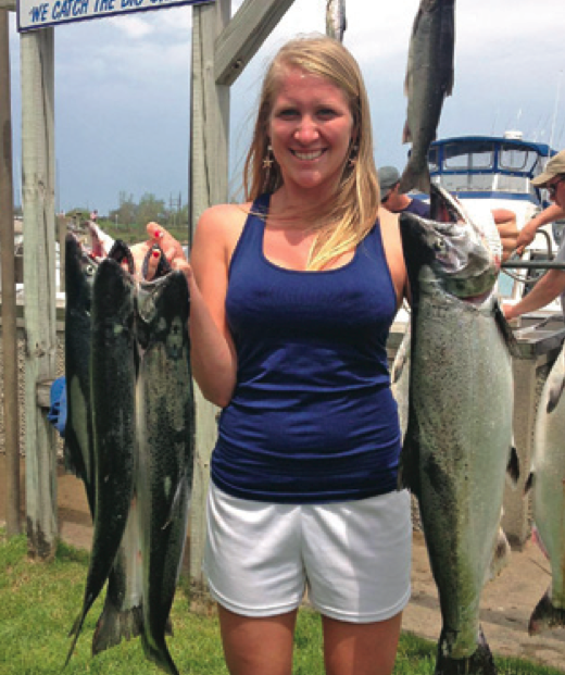 Grand haven fishing report july 2014 coastal angler for Grand haven fishing report