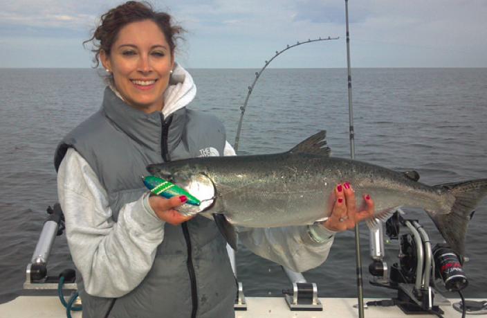 Ludington Fishing Report: July 2014   Coastal Angler & The