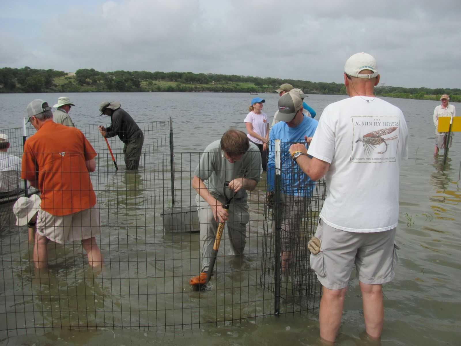 Austin fly fishers improving local fishing coastal for Fly fishing austin texas