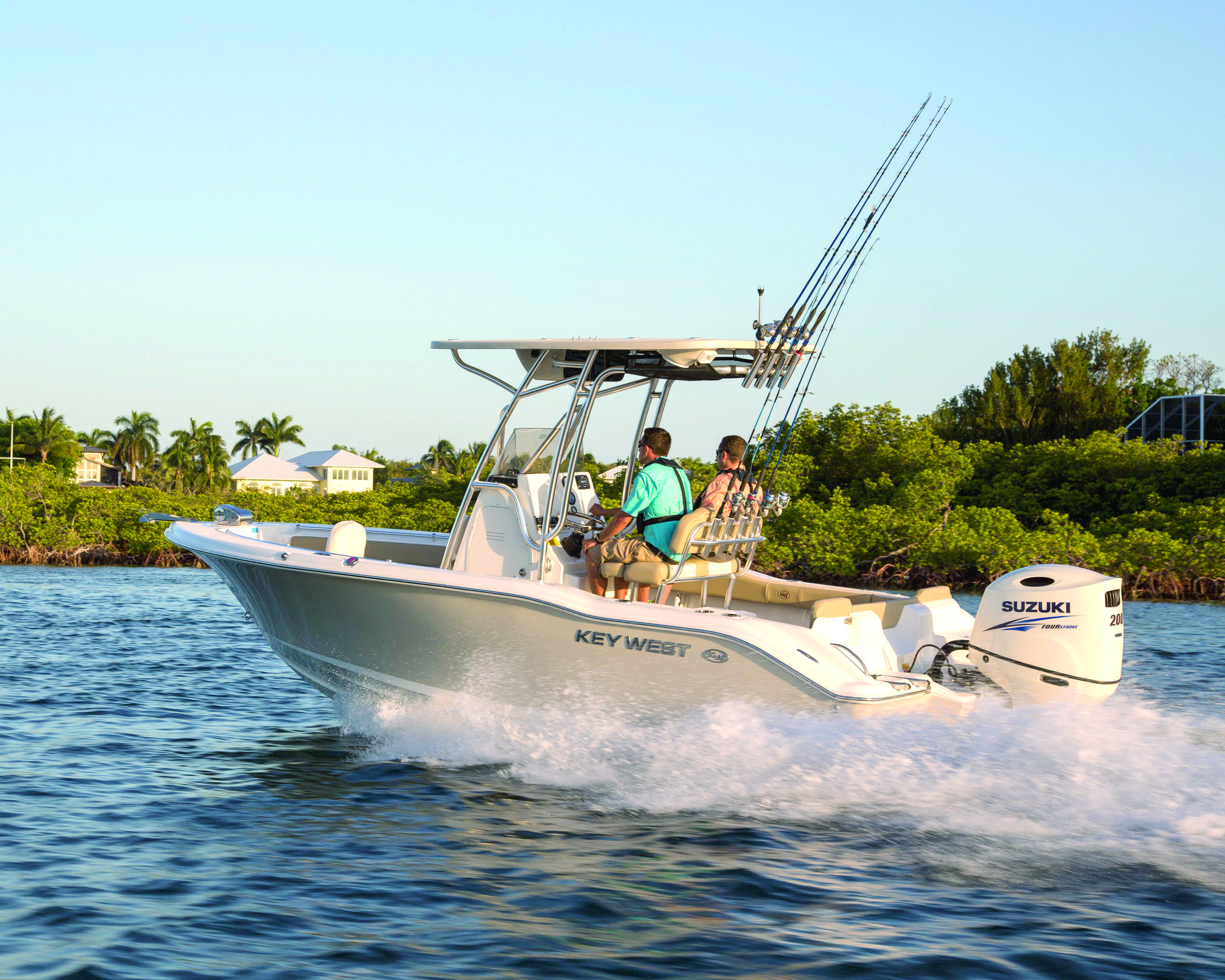 suzuki wows the crowd with awesome new outboards | coastal angler