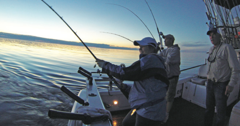 West michigan ben wolfe author at coastal angler the for West michigan fishing report