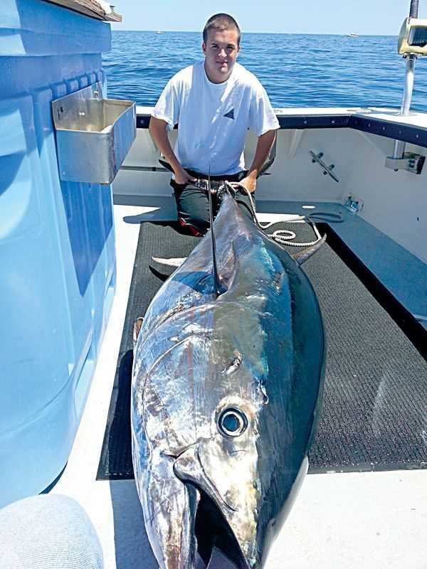Catch the bluefin blitz on the outer banks n c coastal for Tuna fishing north carolina