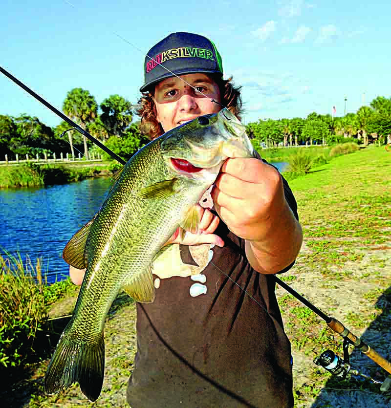 Dean Savage has been tormenting bass in neighborhood retention ponds since he was in diapers.