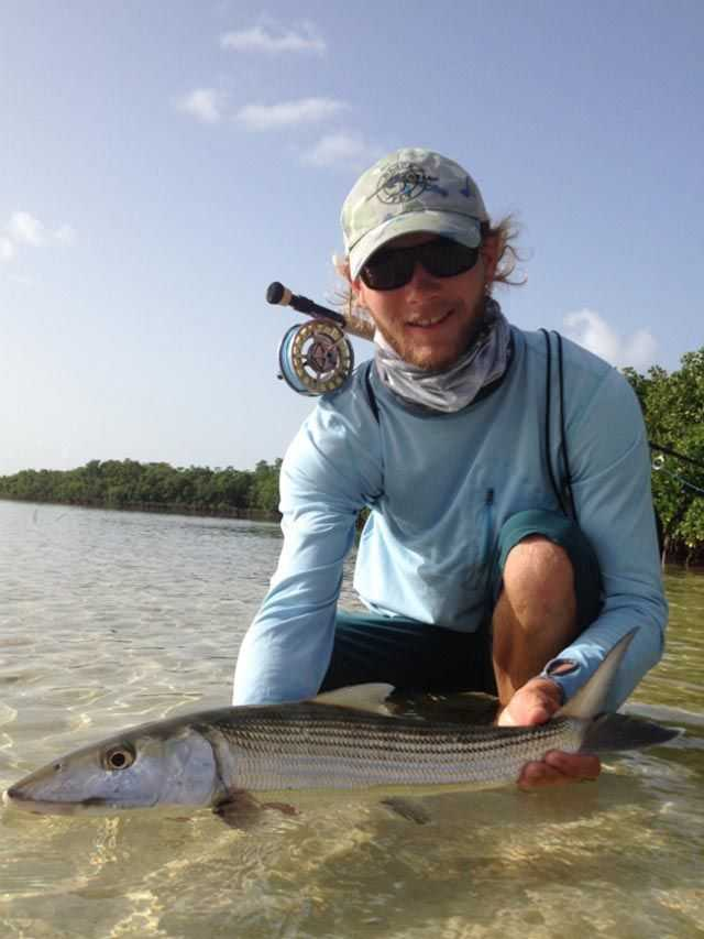 A sample of the recent inshore action in East End Grand Bahama. PHOTO CREDIT: Deep Water Cay.