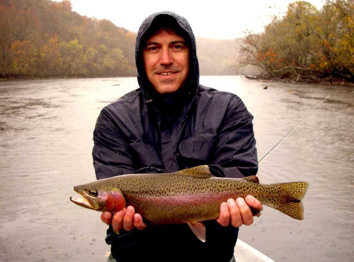 Tailwater trout on tennessee s clinch river coastal for Trout fishing in tennessee