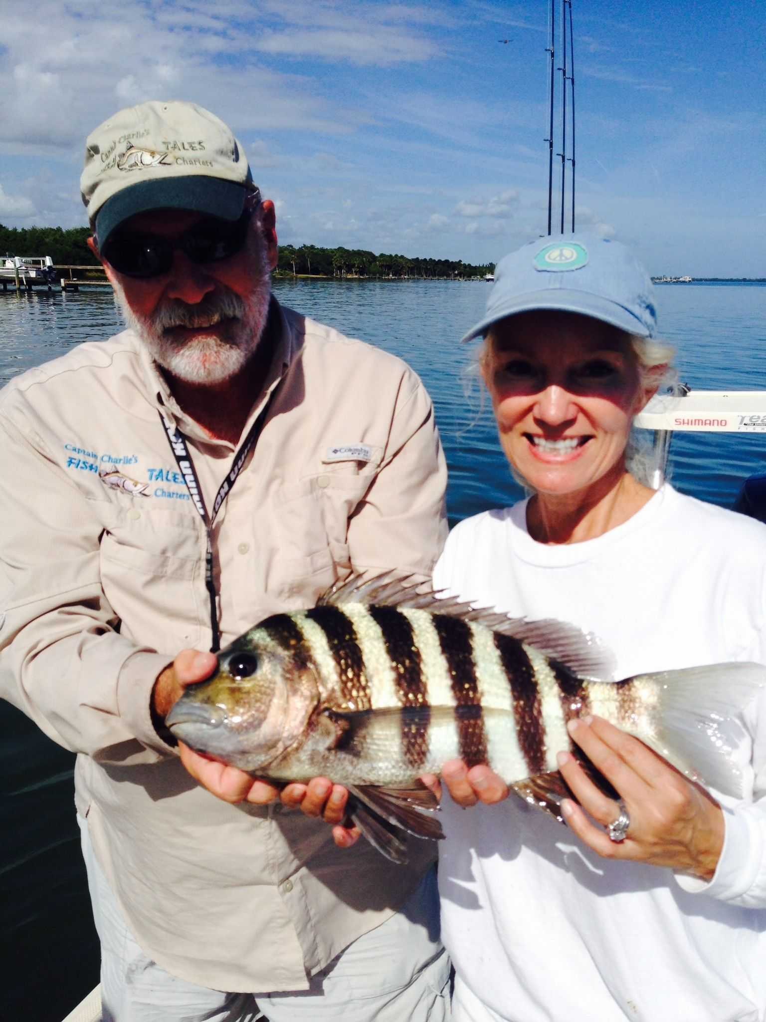 South indian river lagoon fishing report forecast dec for Charlie s fishing report