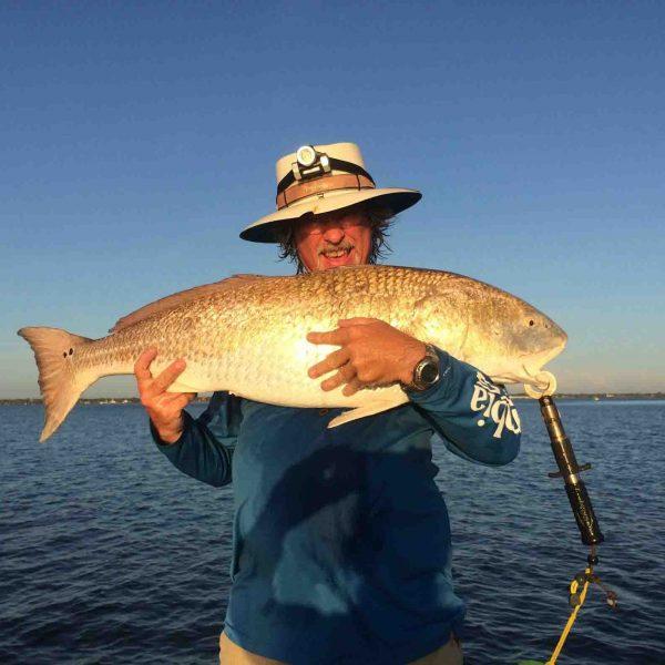 42-inch redfish caught in Sebastian