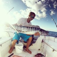 Wahoo caught in Abaco