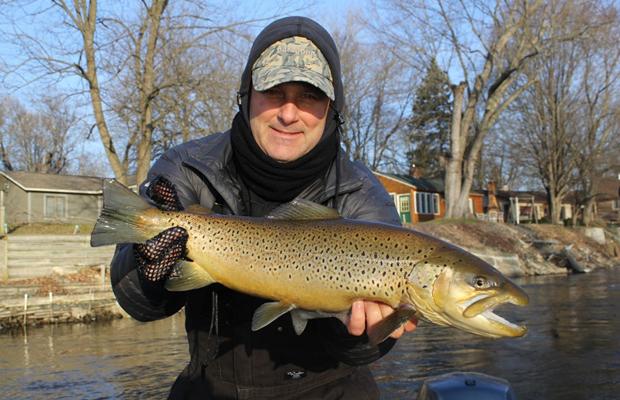 Muskegon river fishing report february 2015 coastal for Muskegon lake fishing report