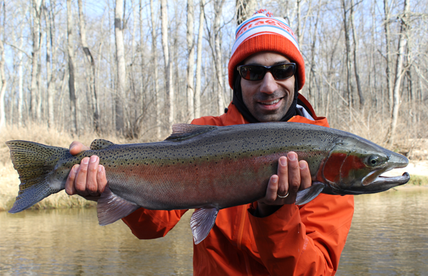 muskegon river fishing report january 2015 coastal