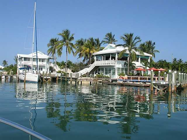Dive Abaco!'s homeport, the Conch Inn, Marsh Harbour, Abaco. PHOTO CREDIT: Keith Rogers.