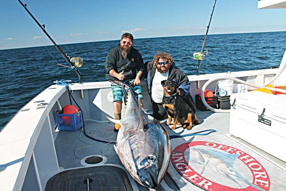 Gloucester Bluefin With Cast Of Wicked Tuna Coastal