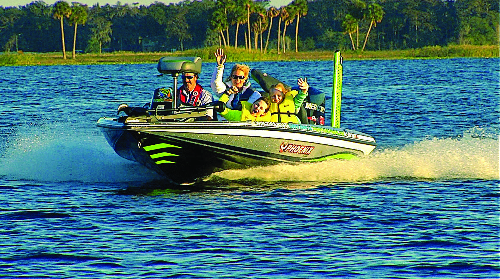 Trophycatch boat giveaway comes full circle for winner for Family fishing boats