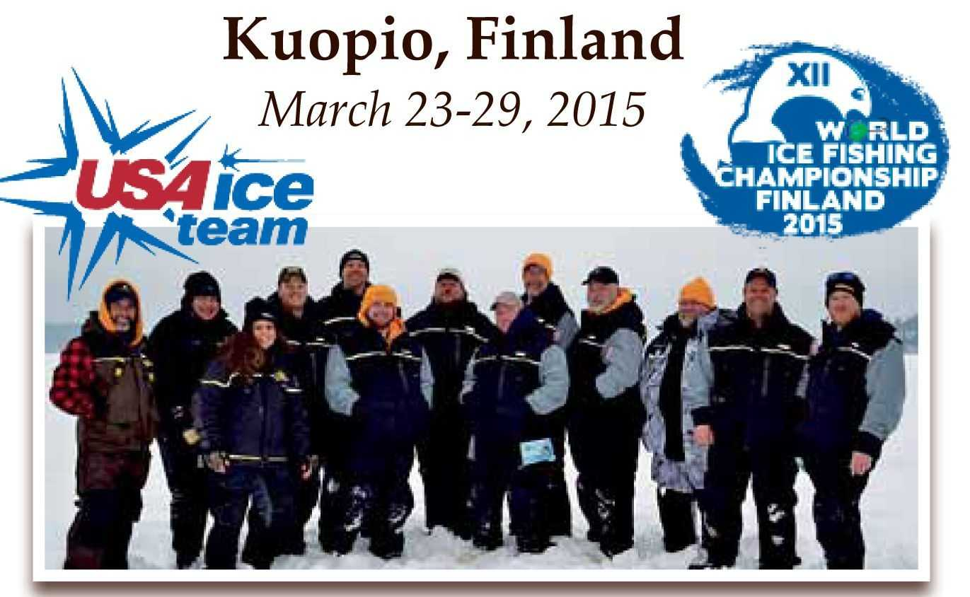 World ice fishing championships xii for Fly fishing team usa