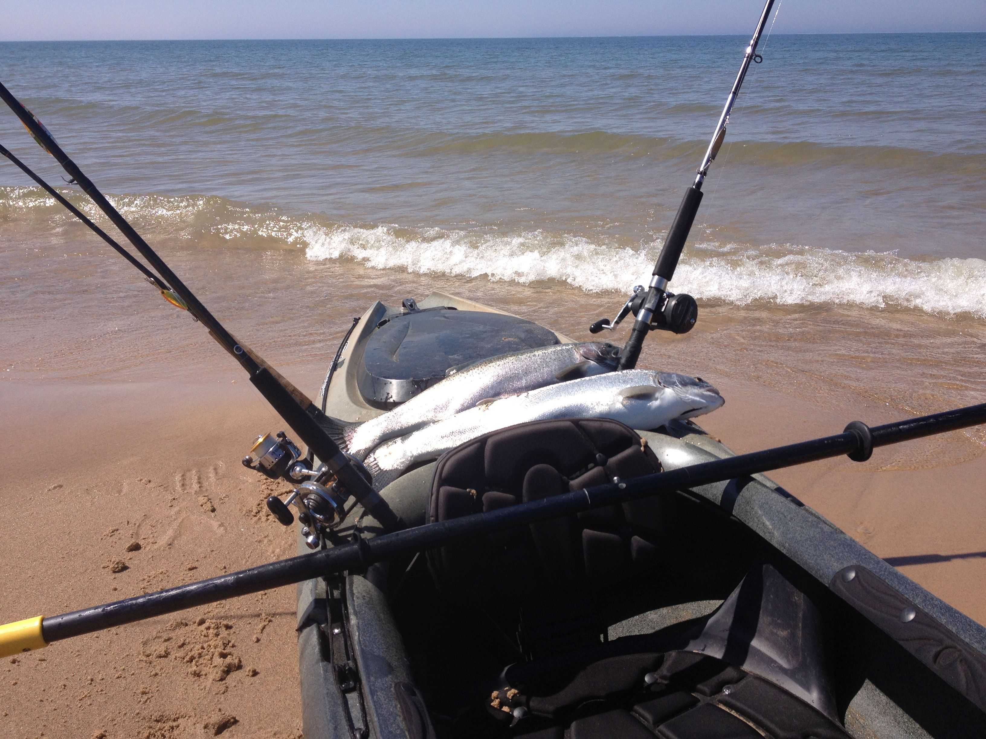 Grand haven fishing report may 2015 coastal angler for Grand haven fishing report