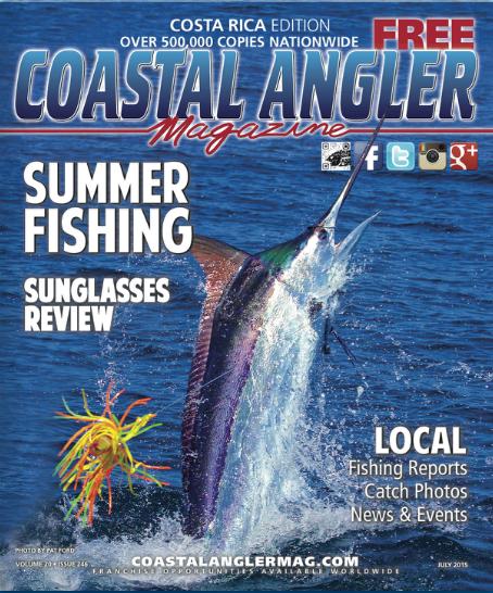 Costa rica edition coastal angler the angler magazine for Free fishing magazines