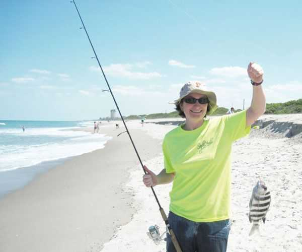 Surf fishing report june 2015 coastal angler the for Long island surf fishing report