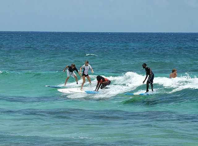 Bahamas surfing conditions and forecast july 2015 for Surf city fishing report