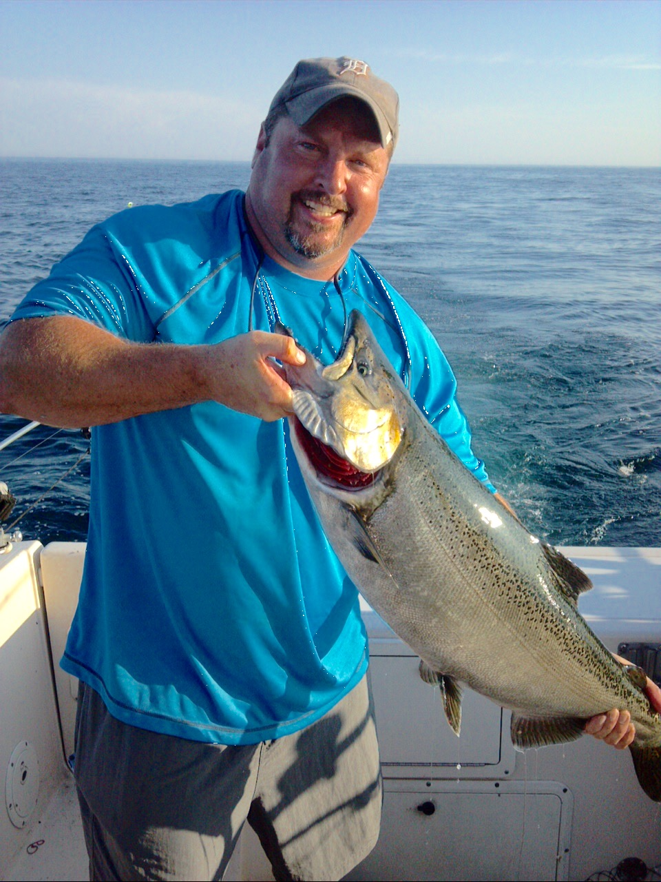 Ludington fishing report july 2015 coastal angler the for Ludington fishing report