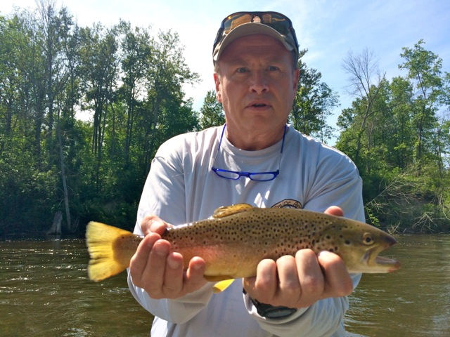 Manistee river fishing report august 2015 coastal for Manistee river fishing report