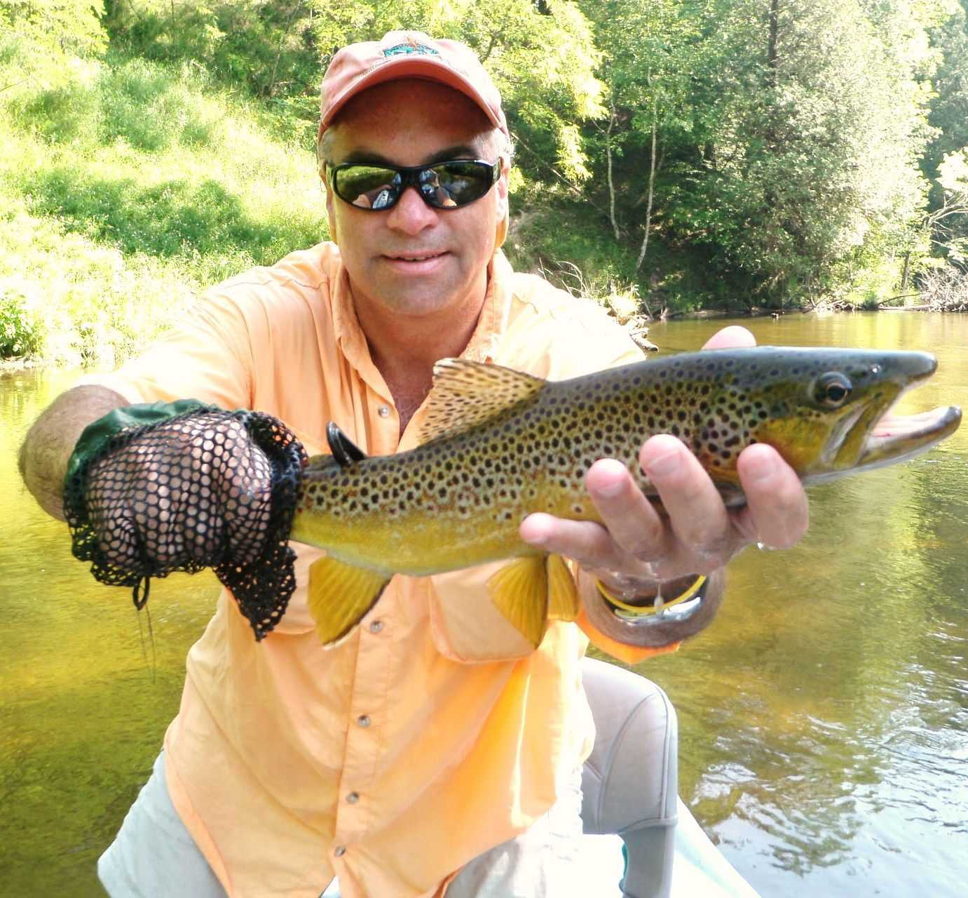 Pere marquette river fishing report august 2015 coastal for Pere marquette river fishing report