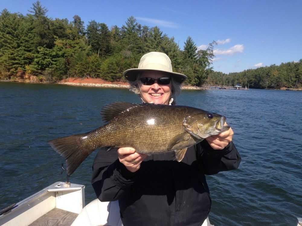 Smallmouth trophy coastal angler the angler magazine for Lake james nc fishing