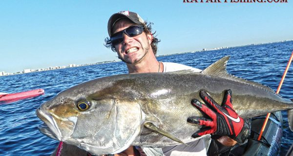 Joe Hector caught this reef donkey by jigging over a deep wreck.
