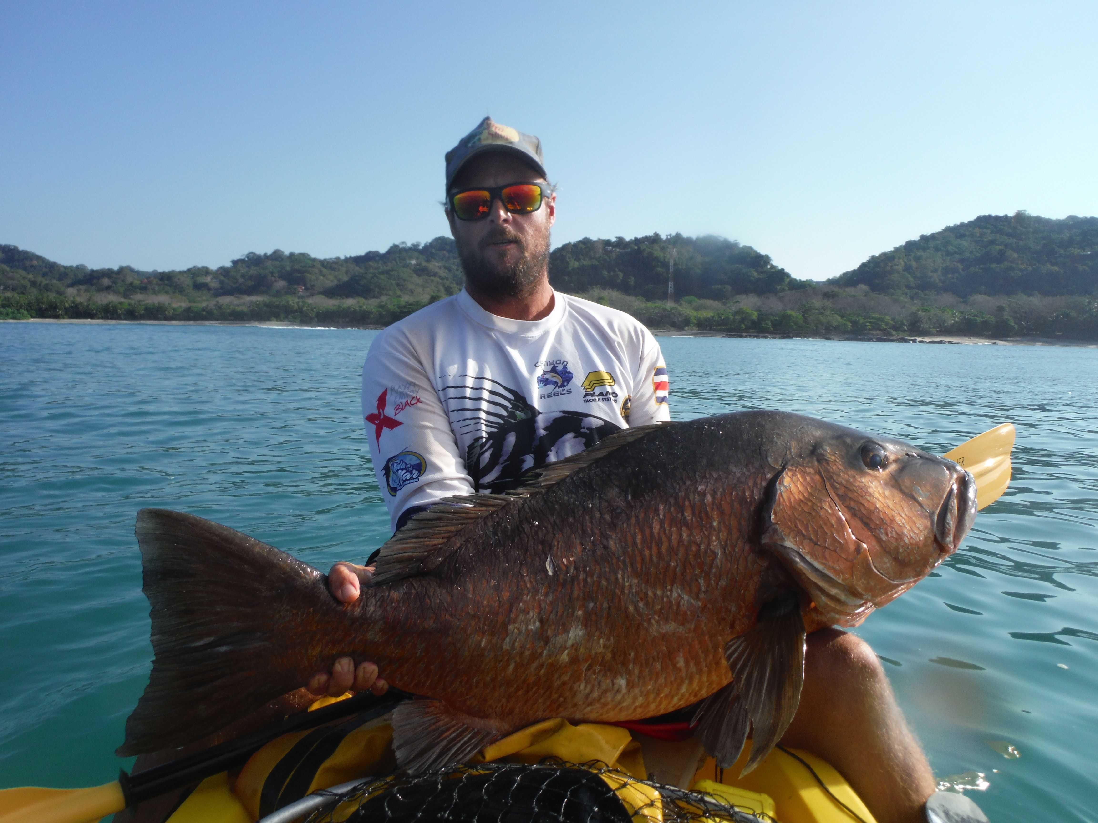 Costa rica kayak fishing report january 2016 for Costa rica fishing report