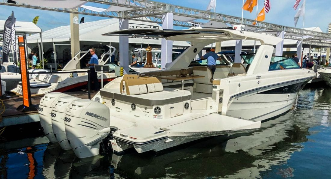 Mercury Marine sees record number of engines at the 2018 Ft. Lauderdale International Boat Show