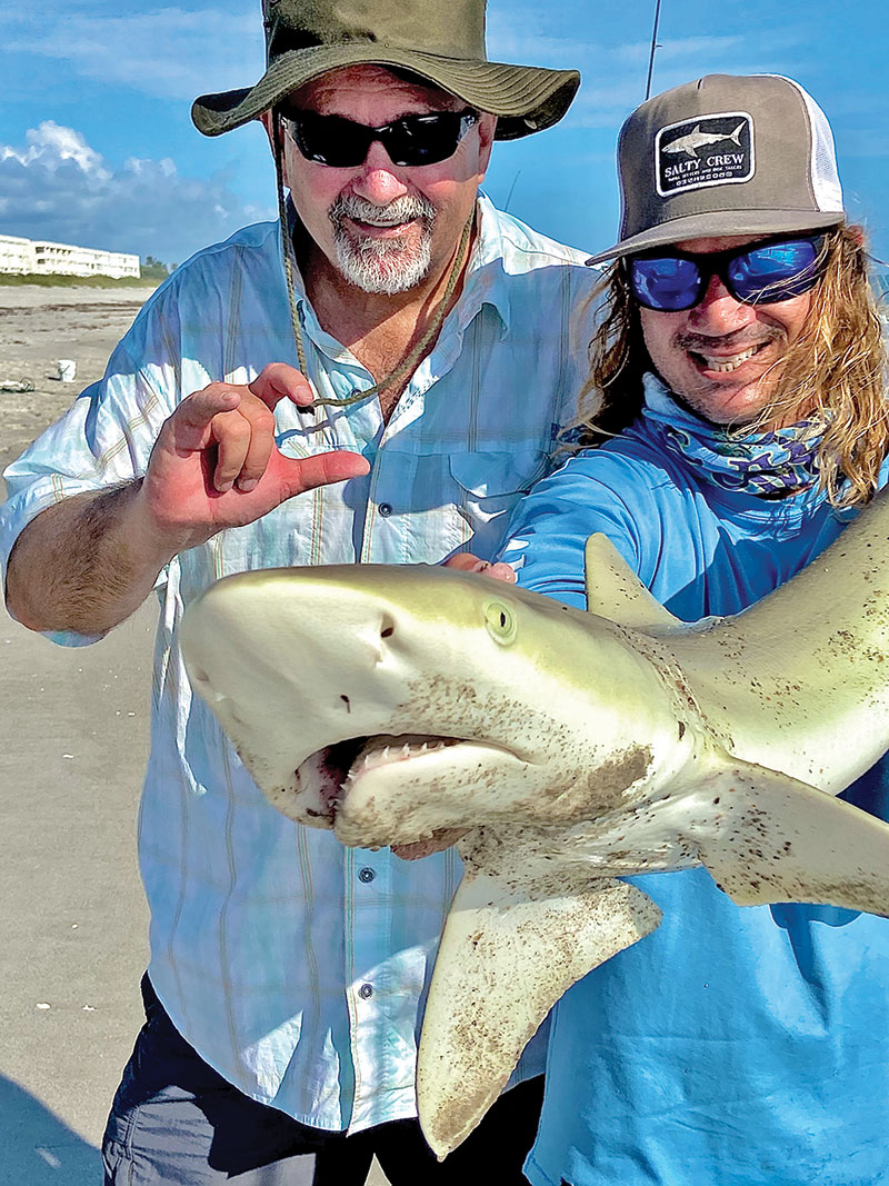 Shark fishing charters on Brevard beaches have been on fire!