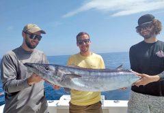 Another great day was had aboard the Underfire with Capt Zach. Handful of kings, cuda, red snapper, sandbar sharks and one wahoo missing its tail!