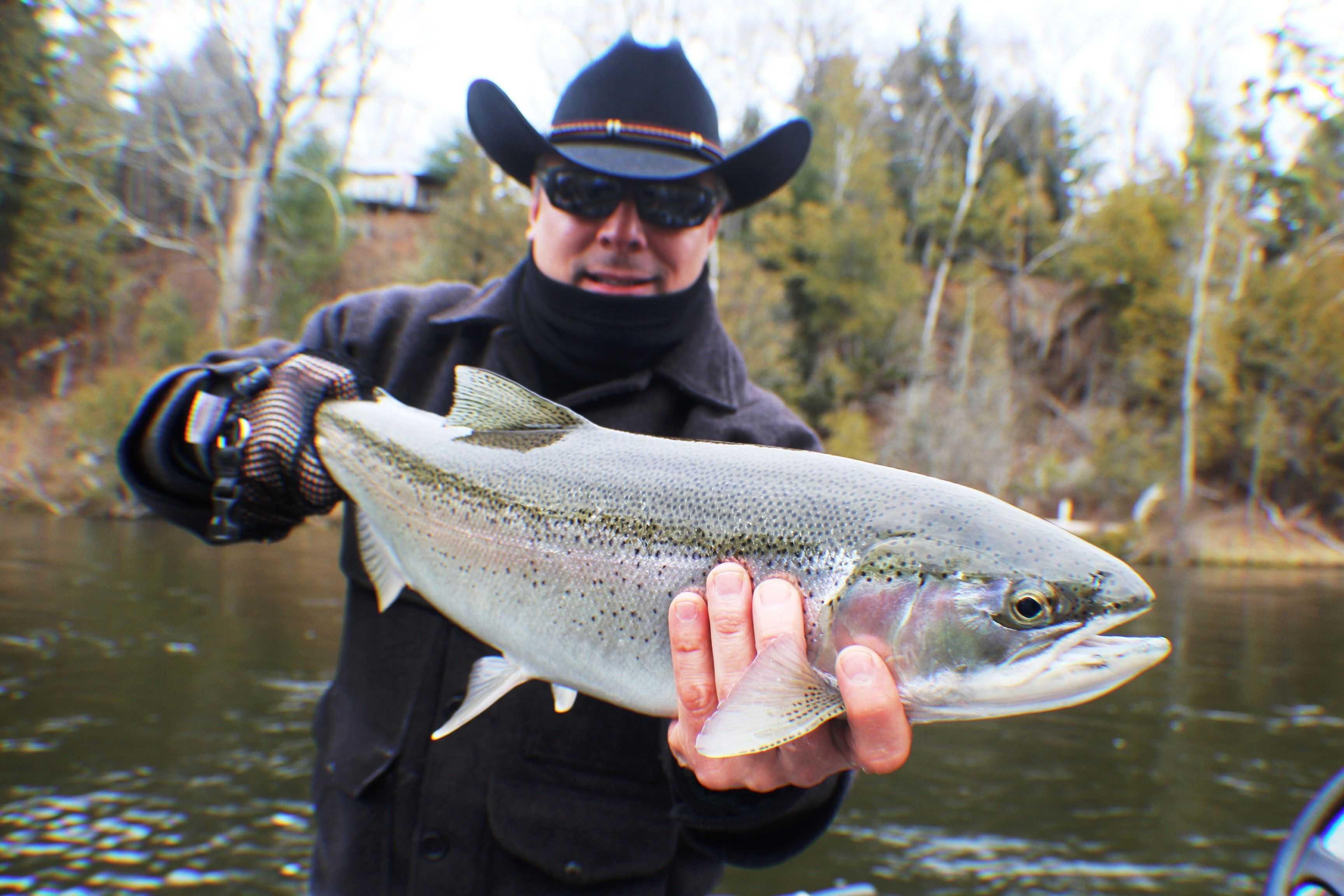Muskegon river fishing report february 2016 coastal for Muskegon lake fishing report
