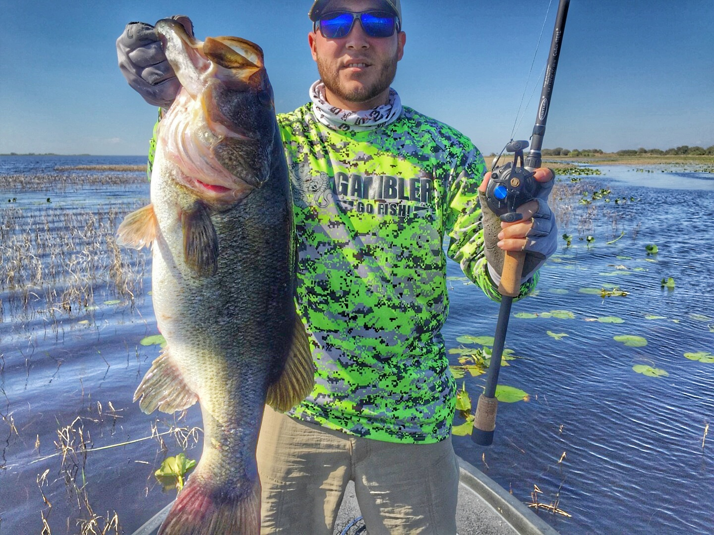Weekly okeechobee fishing report march 18 20 coastal for Lake kissimmee fishing report