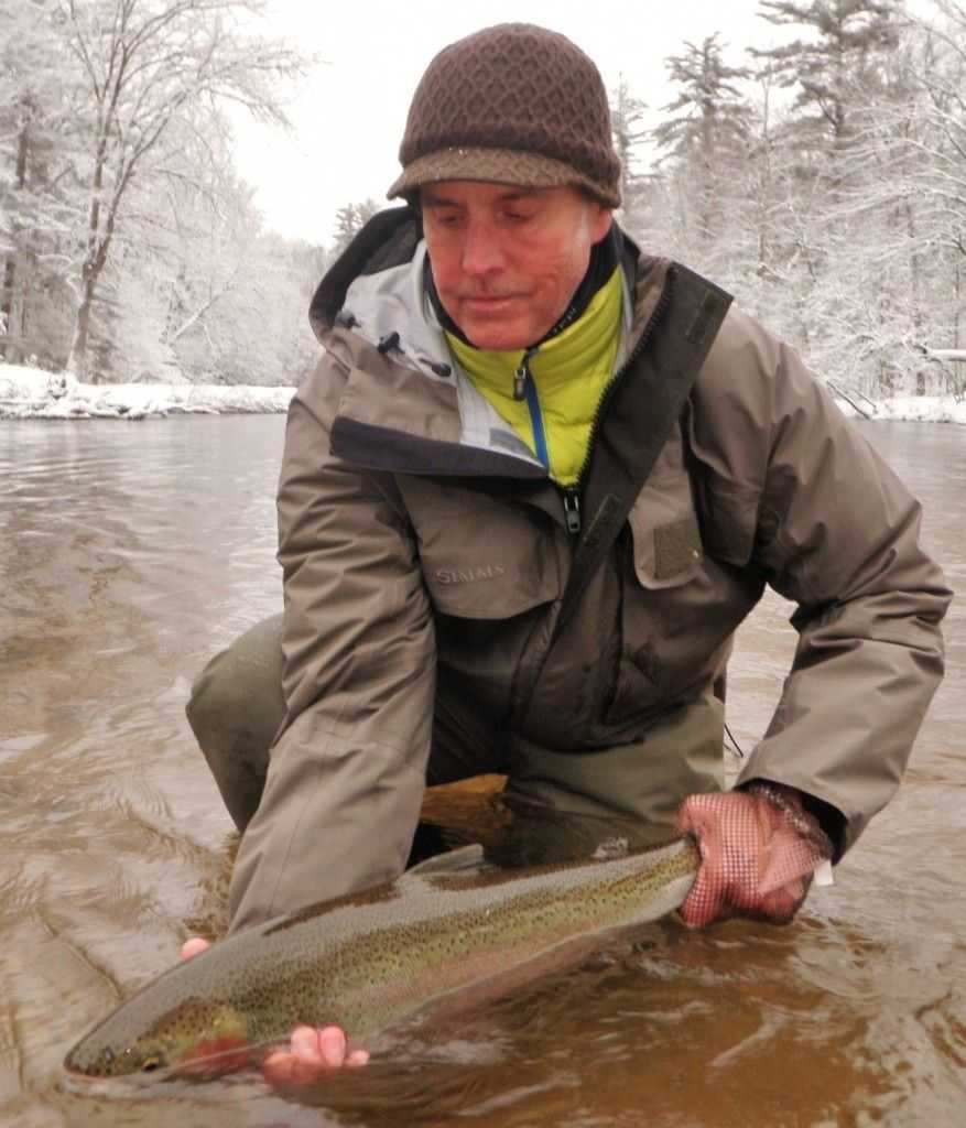 Pere marquette river fishing report march 2016 coastal for Pere marquette river fishing report